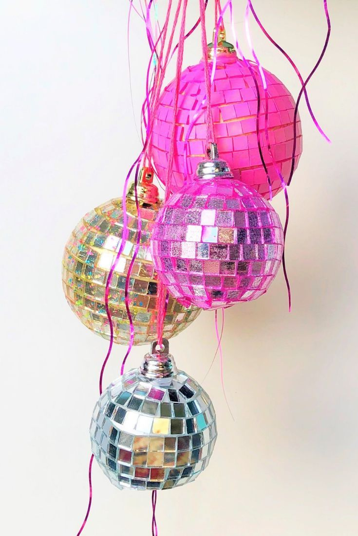 Disco ball chandelier - Lost Mom Disco ball chandelier ...