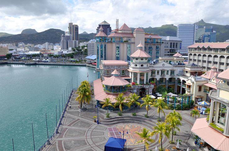 Port-Louis, Capital City of Mauritius and the heart of the administrative sector.