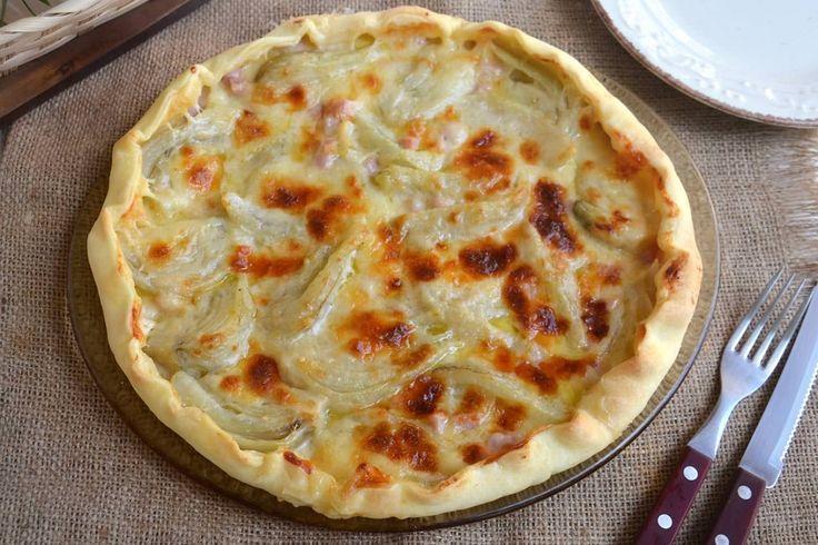 Torta salata con finocchi e prosciutto, scopri la ricetta: http://www.misya.info/ricetta/torta-salata-con-finocchi-e-prosciutto.htm