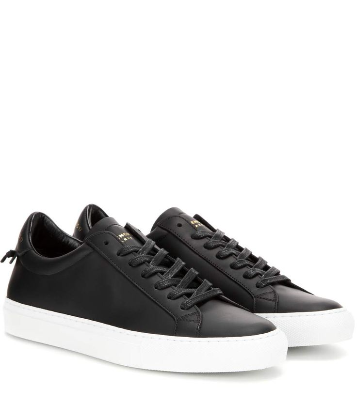 best 25 black leather sneakers ideas on black