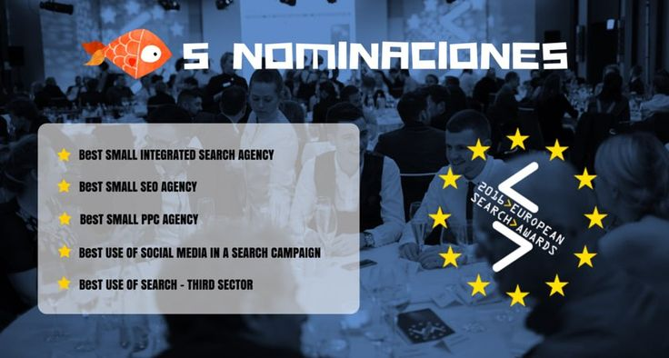 Sidn en los European Search Awards #SEO #MarketingDigital