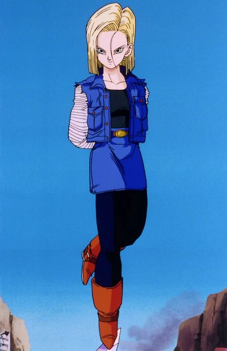 Android 18 from Dragonball Z