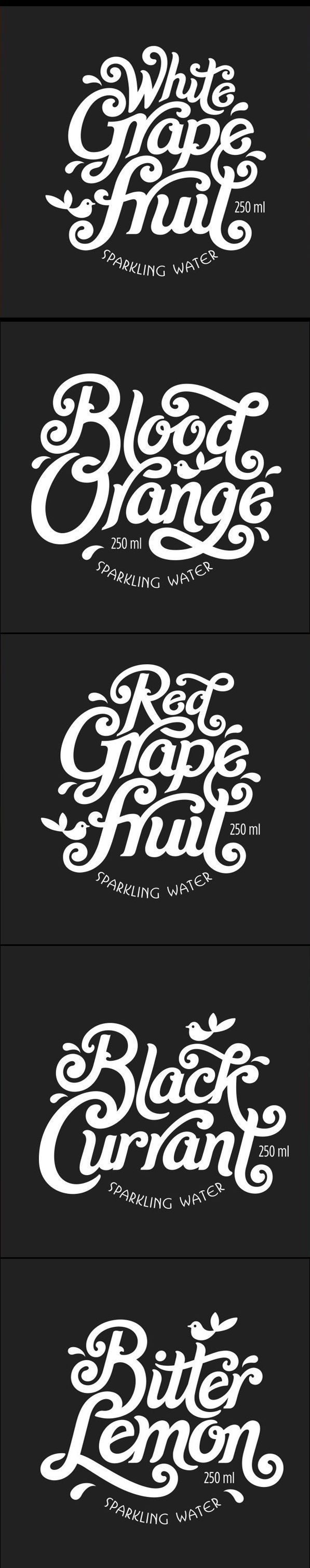 Labels for sparkling water logo graphic design inspiration