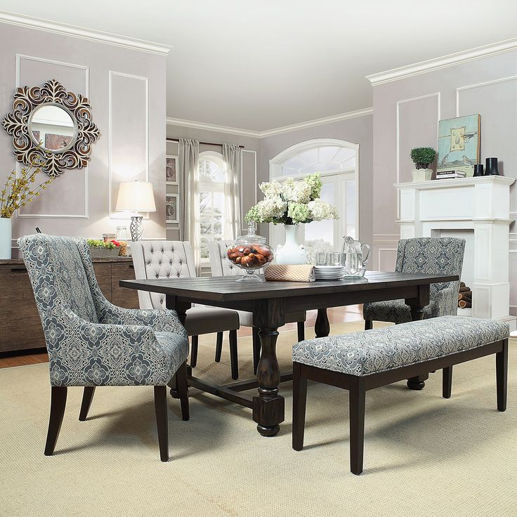 INSPIRE Q Huntington Trestle Baluster Extending Dining Table | Overstock.com Shopping - The Best Deals on Dining Tables