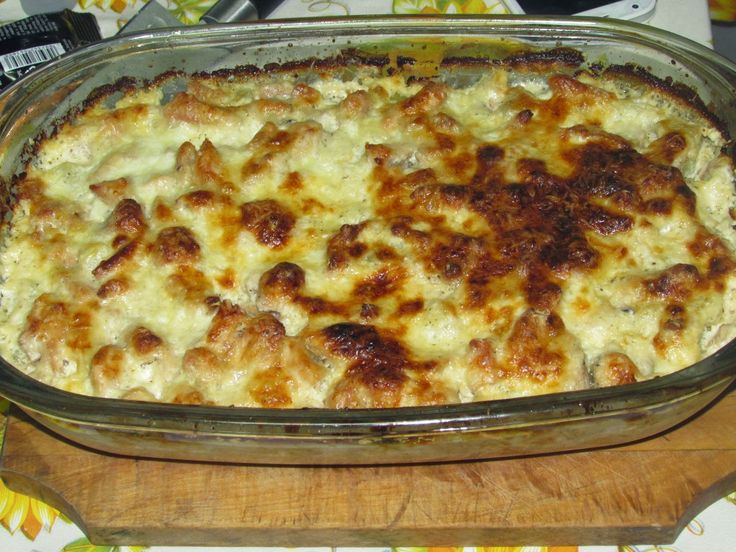 Bucataria tuturor: Cartofi cu piept de pui si smantana.