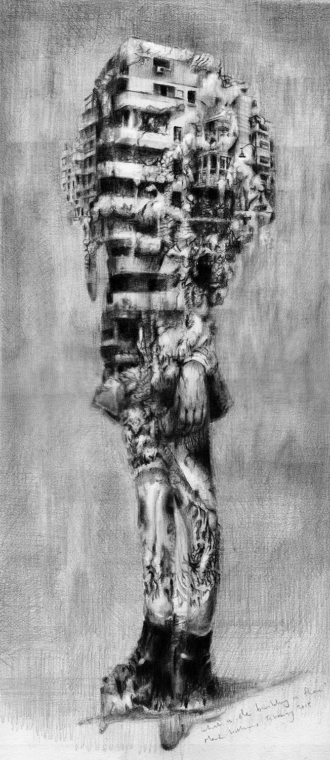 mark francis williams #markfranciswilliams Graphite on Paper
