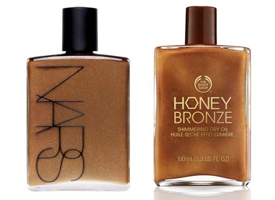The Body Shop Launches a Great NARS Body Glow Dupe! Can't live without my Honey Bronze. Perfect for any night out if your looking for that warm, holiday, sun kissed skin #Top #Bodyshop