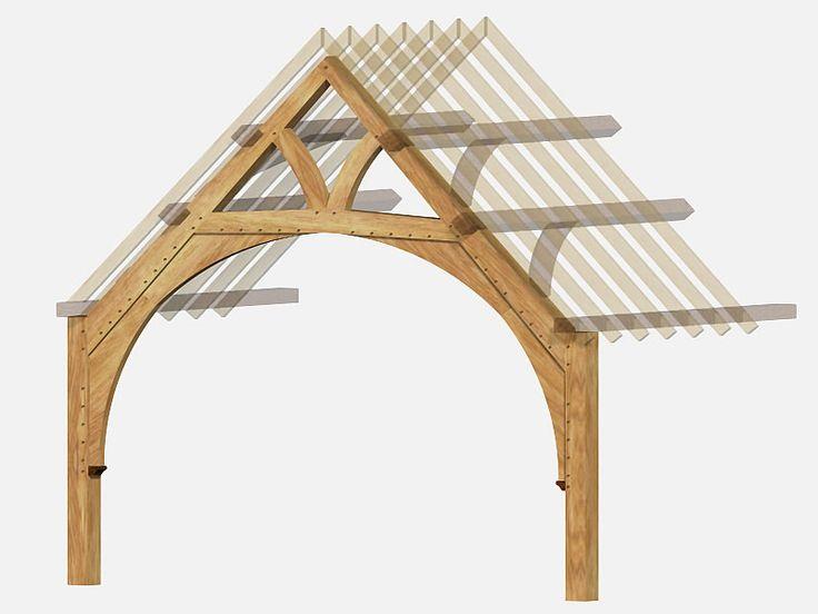 138 Best Timber Framed Images On Pinterest Woodworking