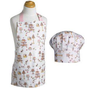 Kids Chef Hat Apron Set Now Designs Kids Apron and Chef Hat Set