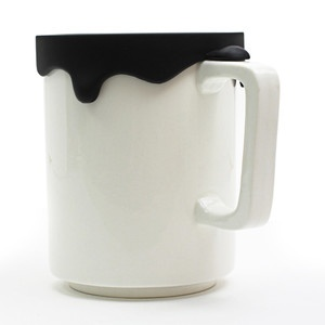 Paint Mug 13.5oz Tall Black