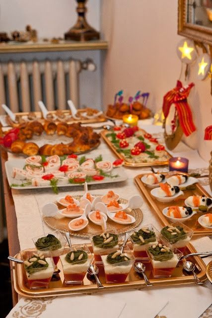 Ghi-gò creazioni archi-alternative: Si avvicina il Natale...Fingerfood