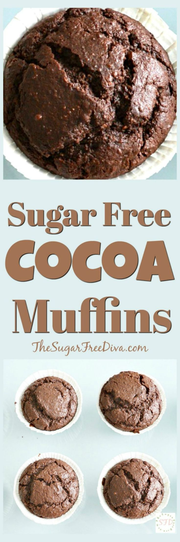 The perfect #muffin #recipe for #breakfast  #sugarfree #cocoa #easy #yummyfood  #yummy