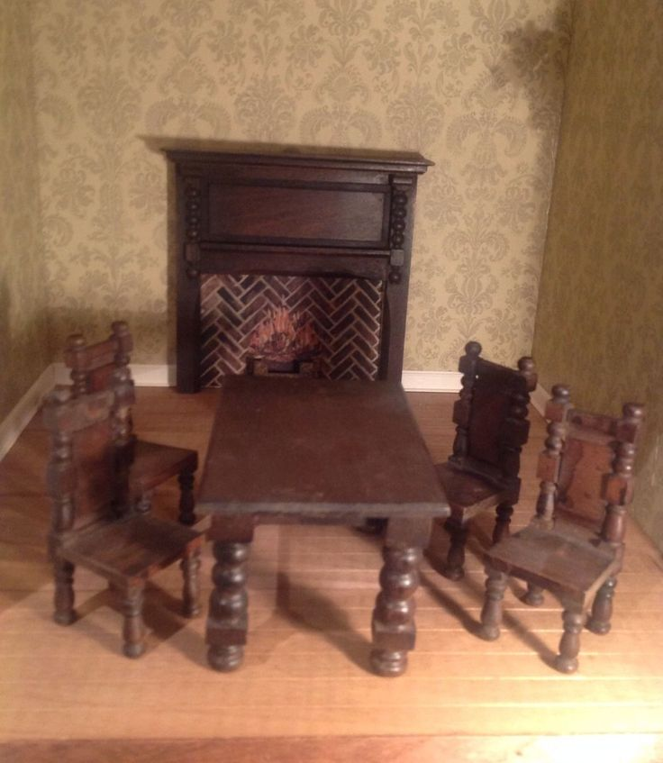 1000 Images About Elgin Dolls House Furniture On Pinterest