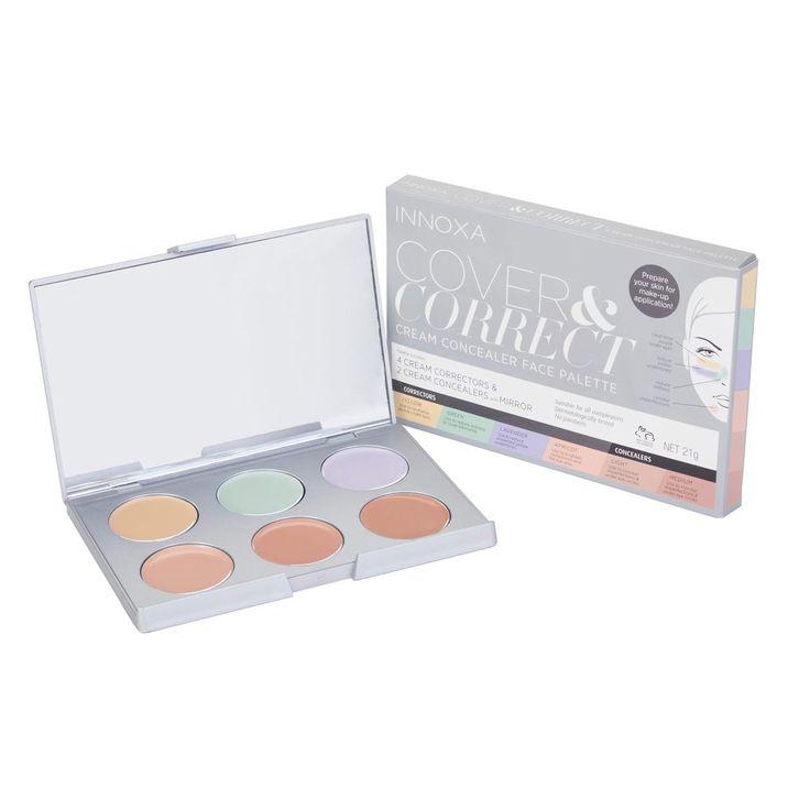 Innoxa Cover & Correct Cream Concealer Face Palette 1 Kit