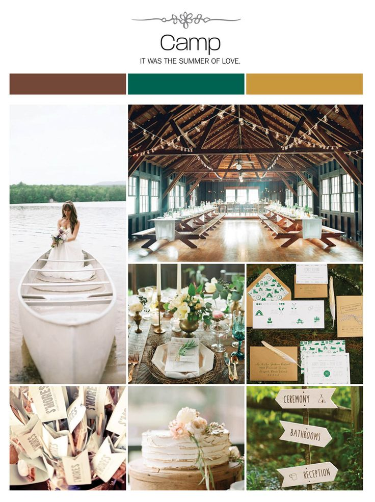 17 Best Images About Camp Weddings On Pinterest