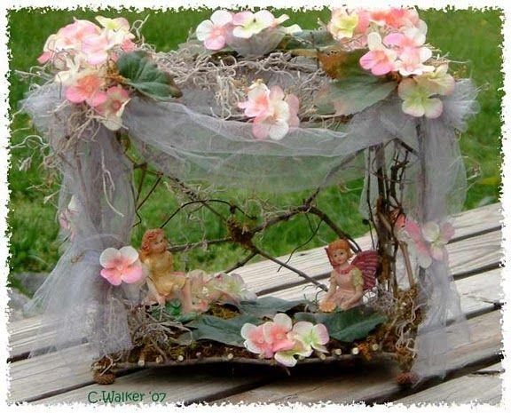 Twig Fairy Furniture | ... материалов от Ghost Horse Studios Fairy Twig Furniture