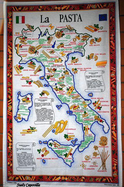 La Pasta Italiana by capovillasjerdy, via Flickr