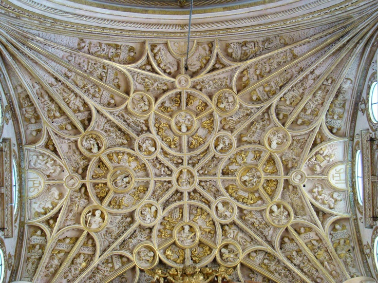 Bóveda de la capilla mayor de la Catedral de Córdoba. (Nicolás Pérez/cc-by-sa) #EnciclopediaLibre