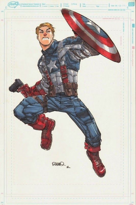 Captain America - Humberto Ramos