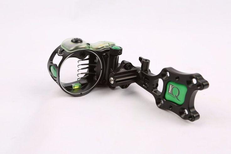 IQ Retina Lock Bowsight Ultra 5 Pin Fiber Optic Bow Sight Compound Bow Sights #Unbranded