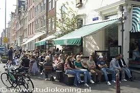 winkel Noordermarkt 43 Amsterdam. great place to have a coffee and the best apple cake in town, overlooking the beautiful Noorder Markt where there is a 2nd hand market on monday mornings and a farmer market on saturday