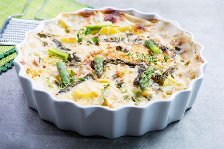 Breakfast, lunch or dinner, frittata makes a delicious meal for the whole family! And this Cheese & Asparagus Frittata is worth trying out this weekend!