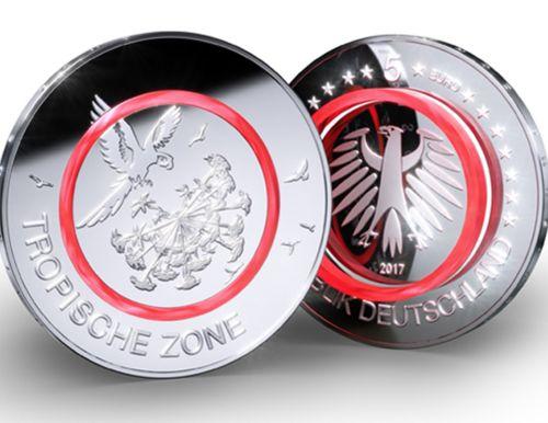 Exklusiv: die neue 5-Euro-Münze mit Uhr!