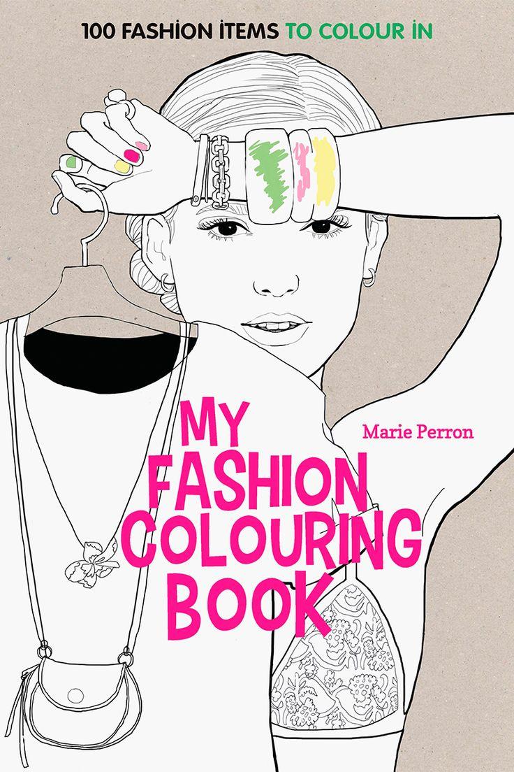 Art therapy coloring book michael omara - La Terapia Anti Estr S Perfecta Para Amantes De La Moda Se Encuentra En El