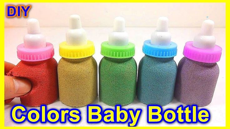 Learn Colors with Baby Bottles Kinetic Sand - Colors Baby Bottle https://youtu.be/FEt_7b_v_-g