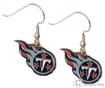 Tennessee Titans Logo Earrings