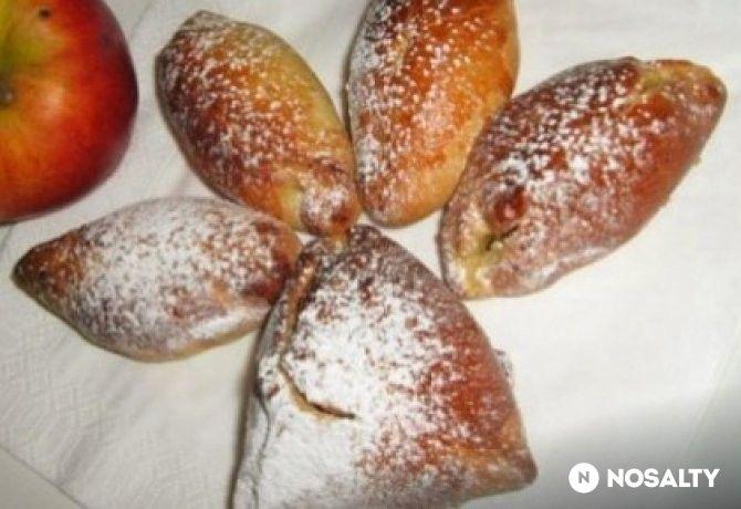 Almás-mazsolás pirozski