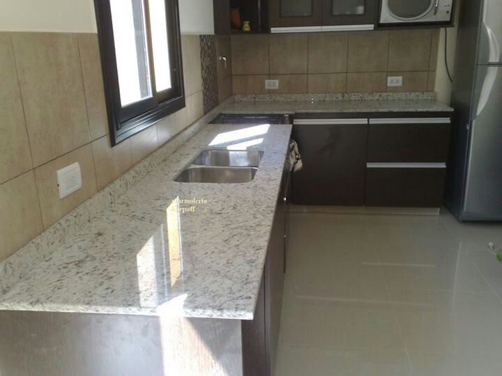 Granito blanco dallas cozinha pinterest dallas for Precio mesada granito