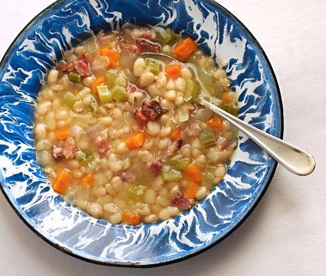 Blue Kitchen Senate Bean Soup