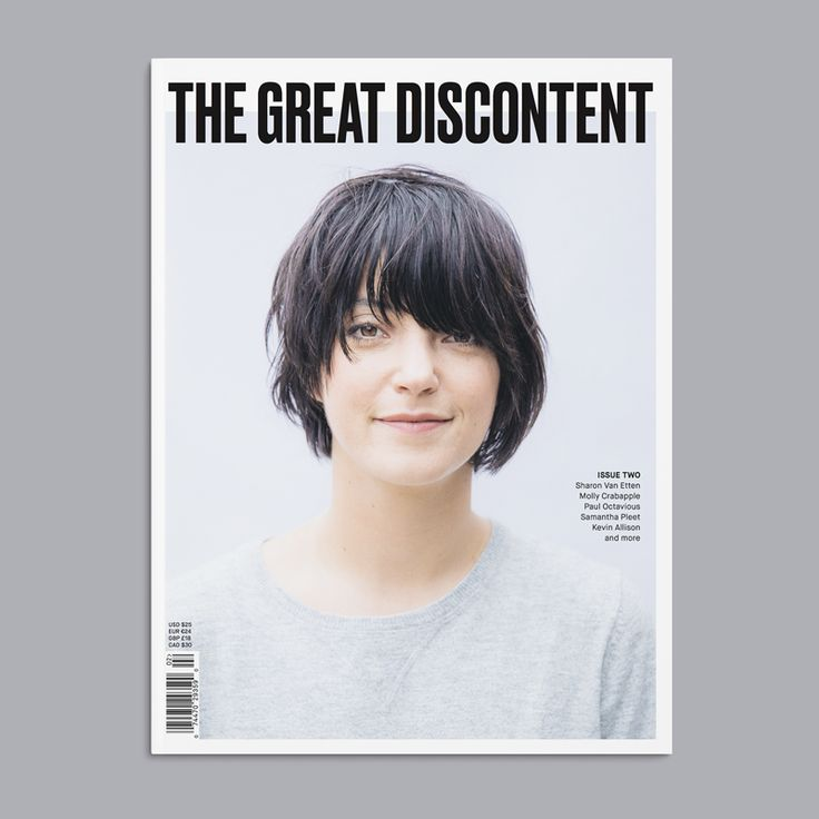 The #TGDmag Issue 02 presale has officially kicked off—preorder your copy! http://shop.thegreatdiscontent.com (cover: Sharon Van Etten photographed by Eric Ryan Anderson)