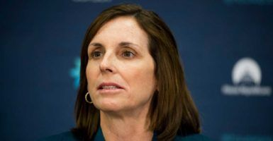 """Our country is founded on the principle that we pick the best man for the job—even if she is a woman,"" says Rep. Martha McSally, R-Ariz."