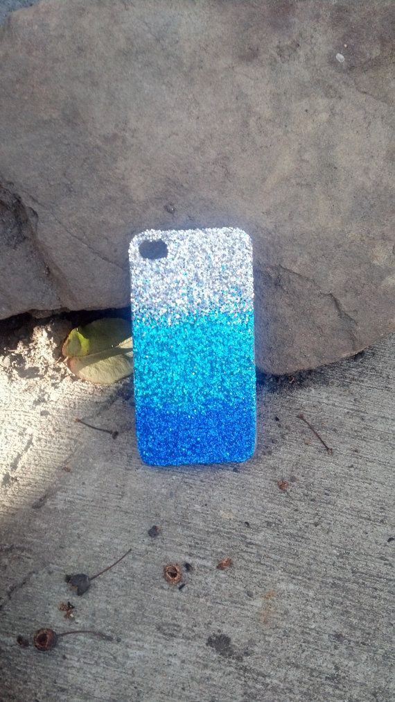 Glitter Ombre iPhone case