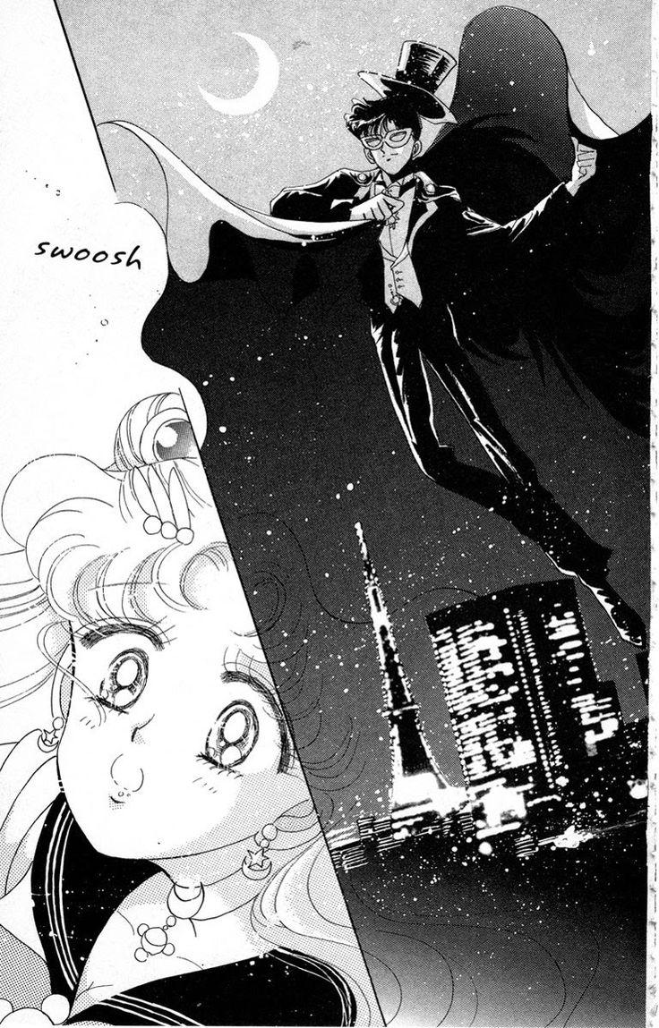 "fehyesvintagemanga:  "" Takeuchi Naoko – Sailor Moon  """