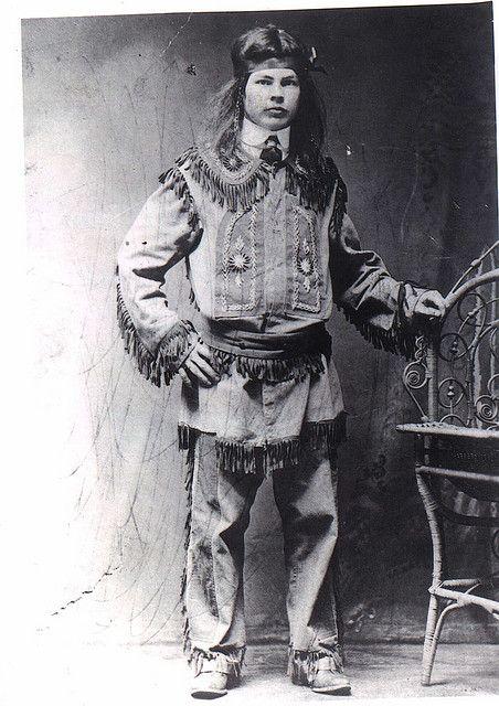 My great grandpa, Karl Otto Knepp in his blackfoot clothing.  He was half blackfoot and half german, my great great grandpa came from germany and married my great great grandma, a full blackfoot indian.