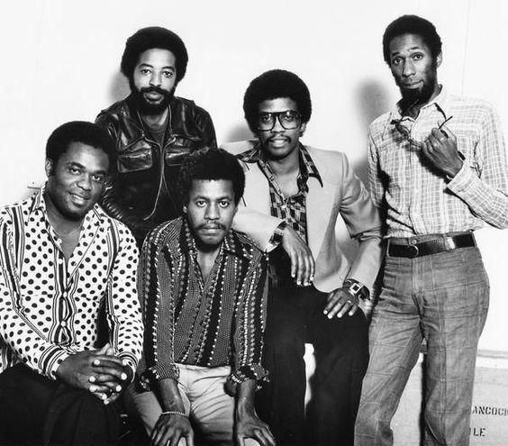 From left: Freddie Hubbard (t), Tony Williams (d), Wayne Shorter (s), Herbie Hancock (p) and Ron Carter (b), 1976