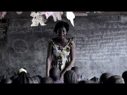 Die starke, motivierte Rita lässt Flüchtlingskinder in der Zentralafrikanischen Republik nicht im Stich!