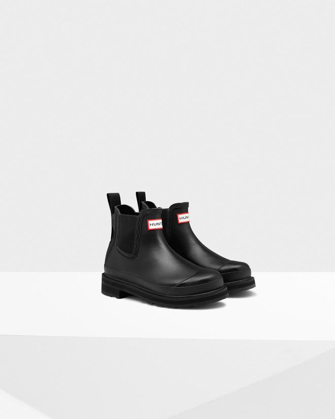 Brilliant Hunter Womenu0026#39;s Original Refined Chelsea Boots - Black - Free UK Delivery Over U00a350
