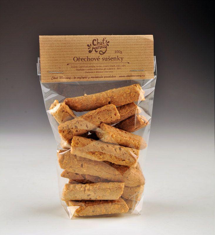 Ořechové sušenky Chuť Moravy.