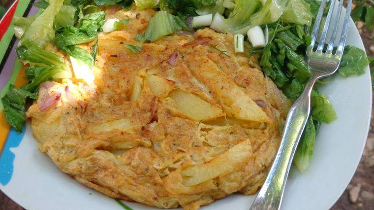 Tortilla [ομελέτα] Ισπανική Φανταστική γεύση !!! ~ ΜΑΓΕΙΡΙΚΗ ΚΑΙ ΣΥΝΤΑΓΕΣ