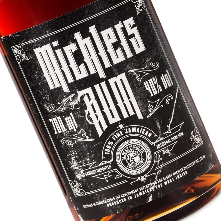 Michler's Rum Fine Jamaican Dark