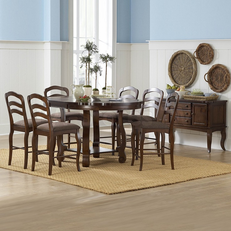 Arlington 7 PC Counter Height Dining Set