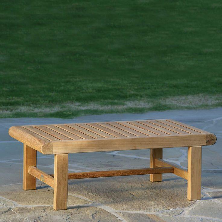 Kingsley Bate Nantucket Coffee Table · Coffee TablesOutdoor LivingNantucketOutdoor  FurnitureAtlantaPatio