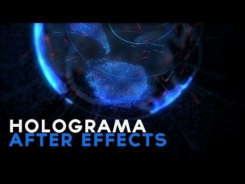 Holograma After Effects Tutorial - YouTube