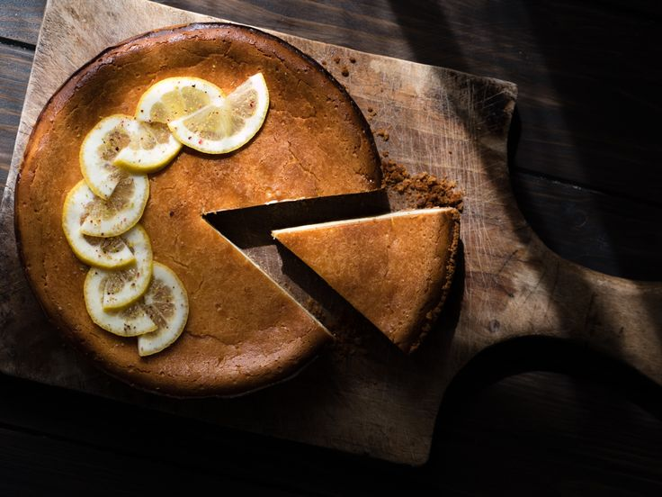 New York cheesecake al limone - food photography