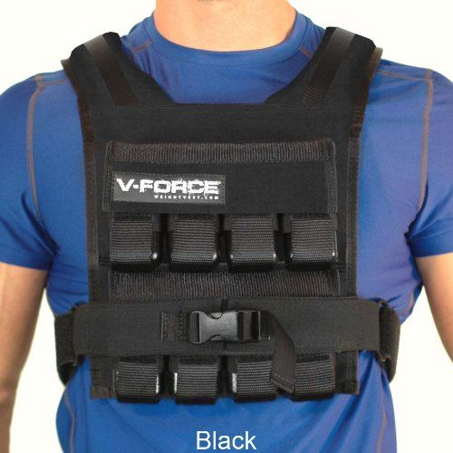 The V-Force Weight Vest is a popular choice for those looking to lose weight quickly, or increase their athletic performance. Read the full review here.