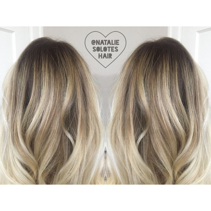 Shadow root rooted blonde bronde soft seamless lived in haircolor and haircut bright Hair Salon Balayage
